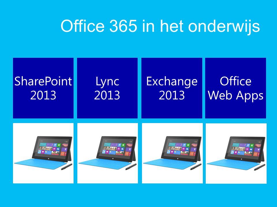 Office 365 in het onderwijs