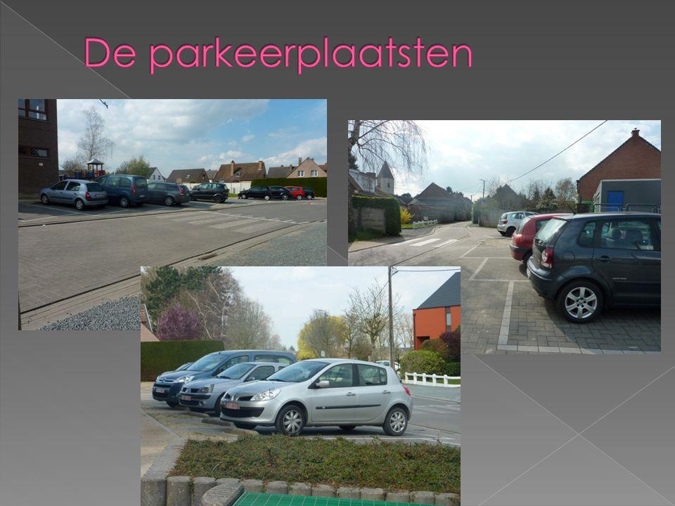 De parkeerplaatsten
