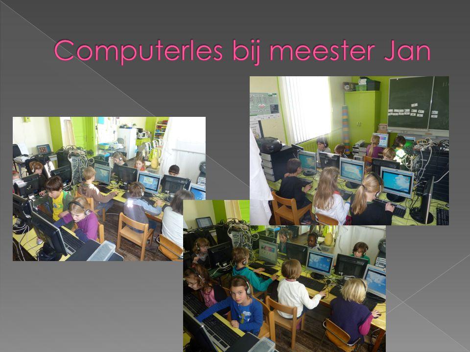 Computerles bij meester Jan