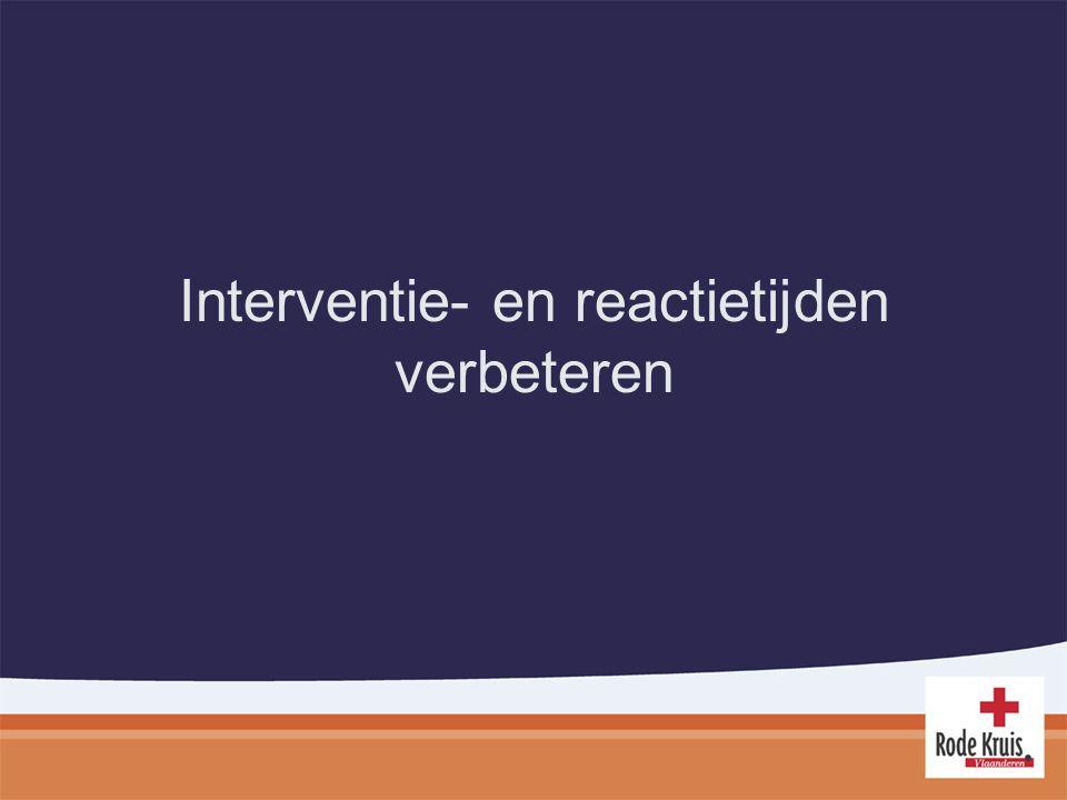 Interventie- en reactietijden verbeteren