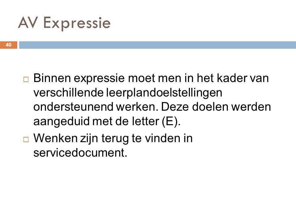 AV Expressie