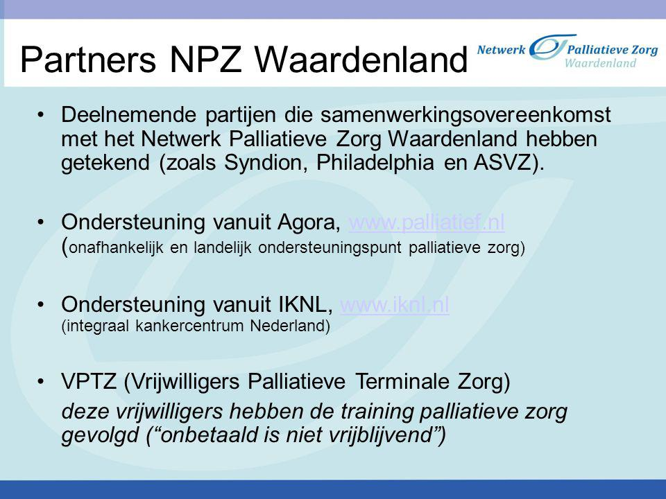 Partners NPZ Waardenland