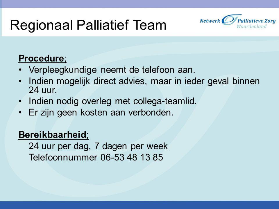 Regionaal Palliatief Team