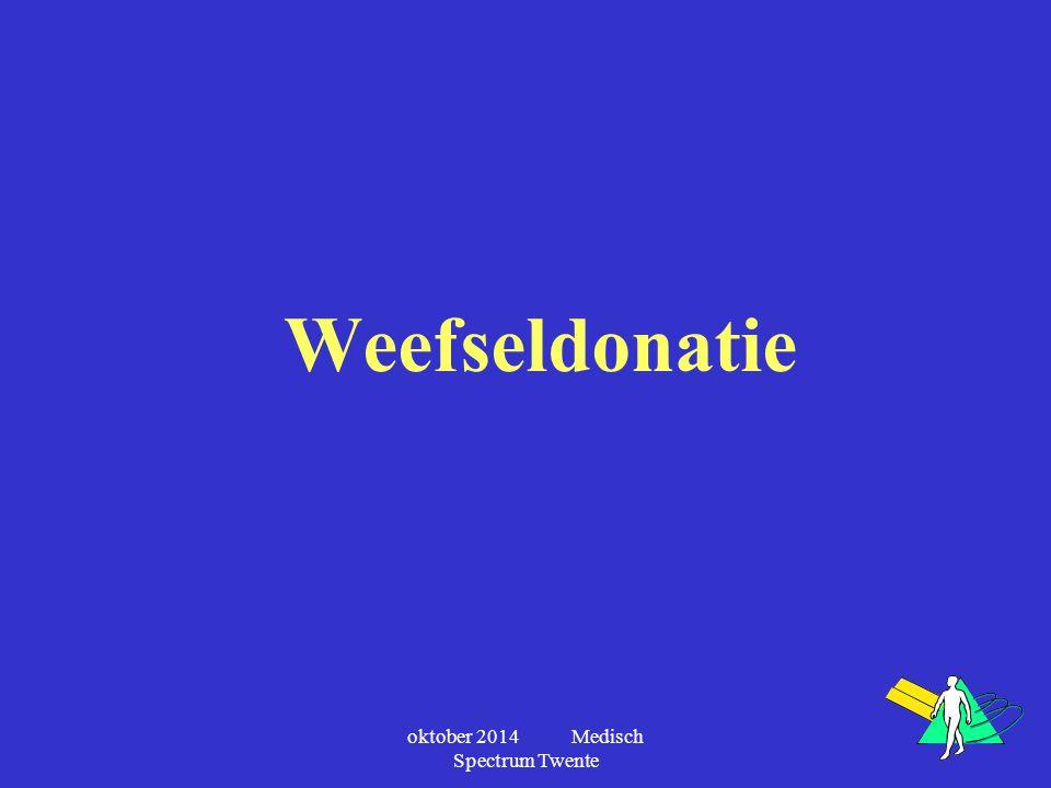 oktober 2014 Medisch Spectrum Twente