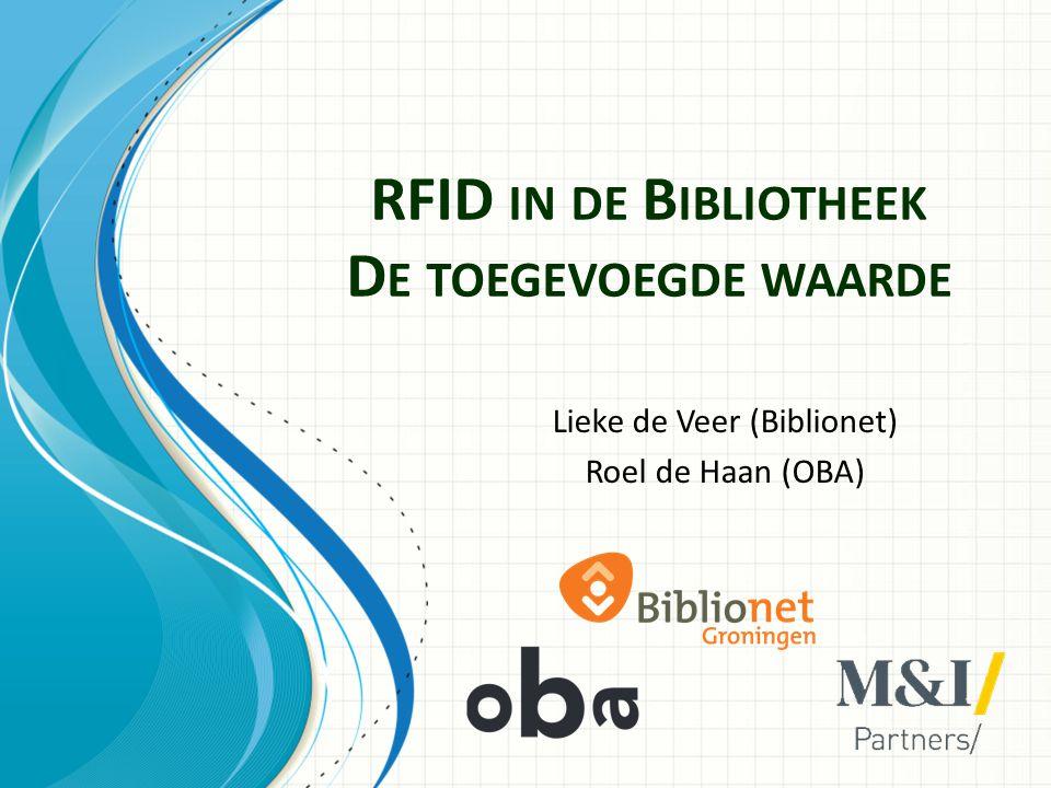 RFID in de Bibliotheek De toegevoegde waarde