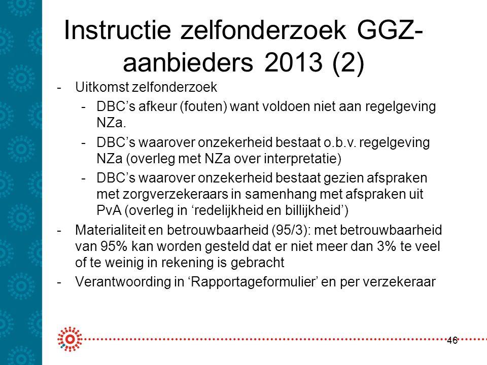 Instructie zelfonderzoek GGZ-aanbieders 2013 (2)