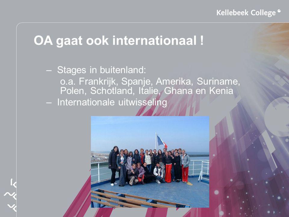OA gaat ook internationaal !