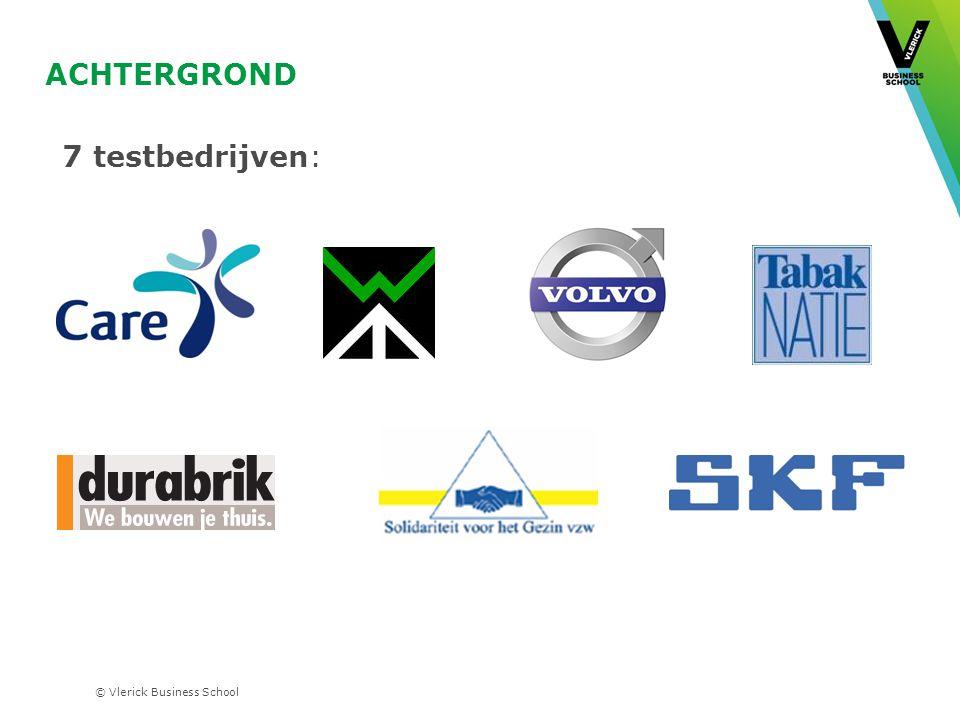 Achtergrond 7 testbedrijven: