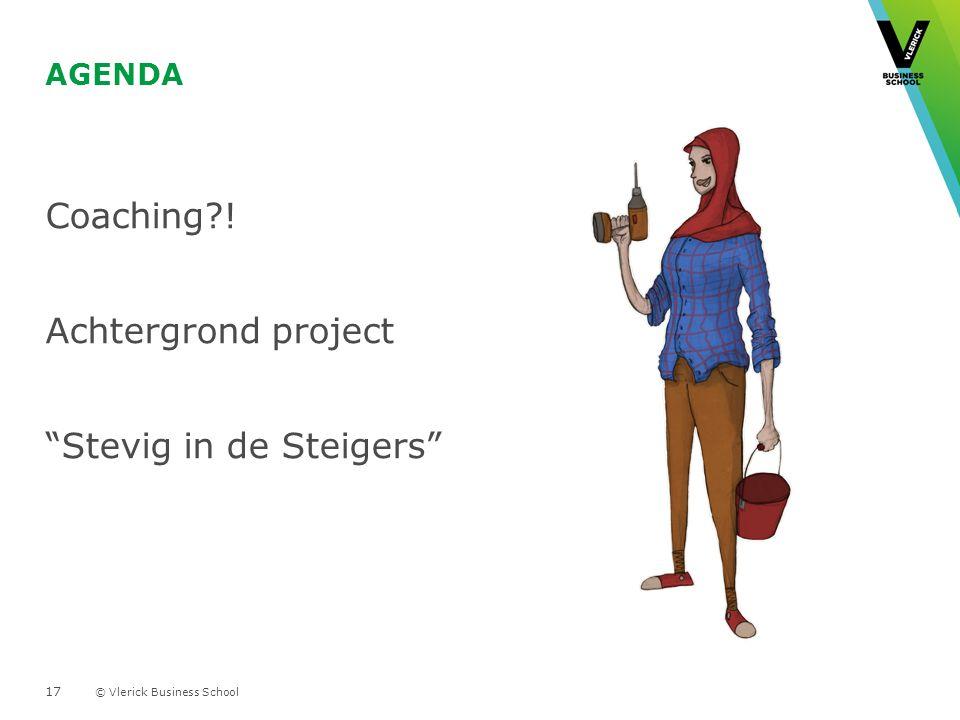 Coaching ! Achtergrond project Stevig in de Steigers