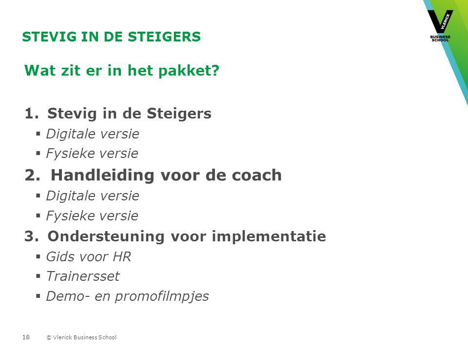 Handleiding voor de coach