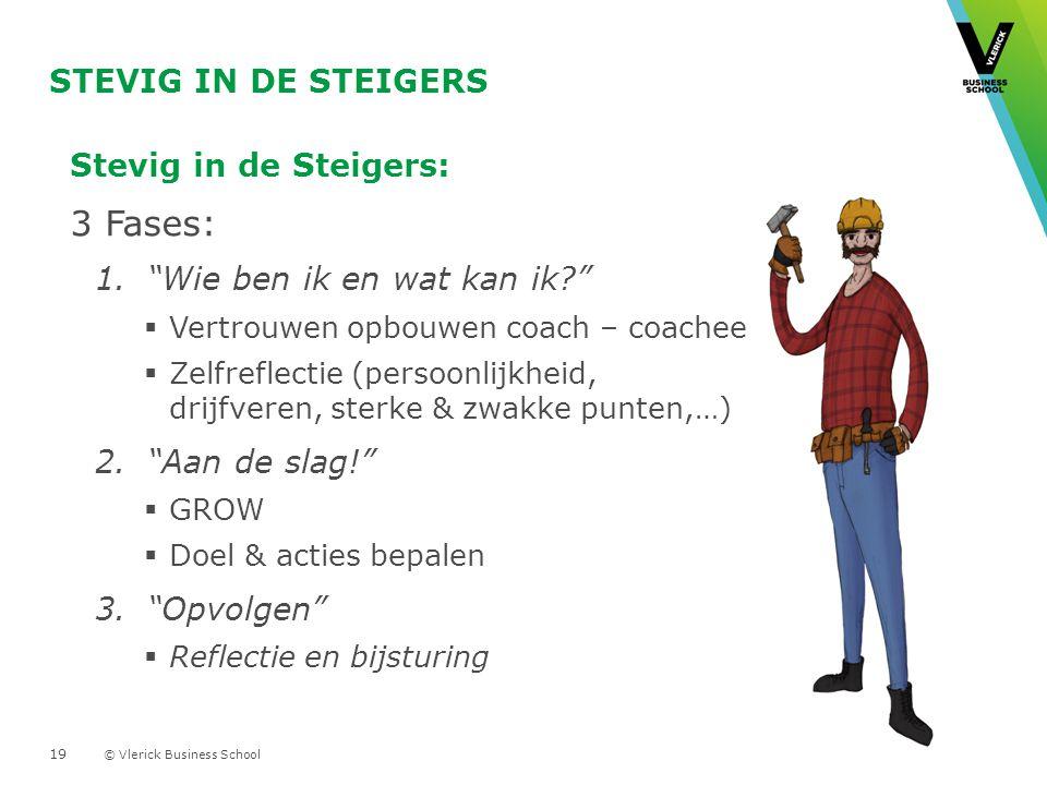 3 Fases: Stevig in de Steigers Stevig in de Steigers: