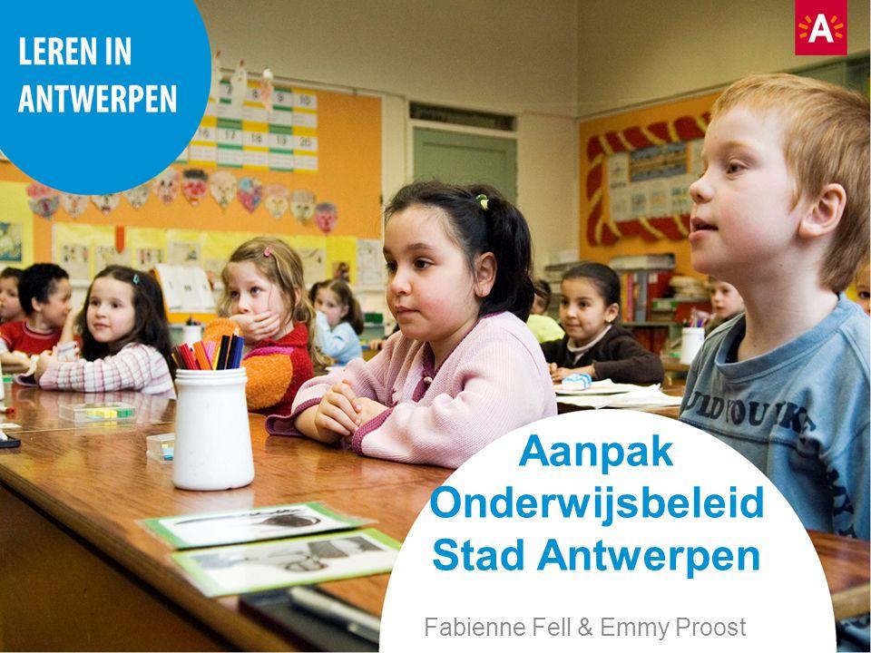 Aanpak Onderwijsbeleid Stad Antwerpen