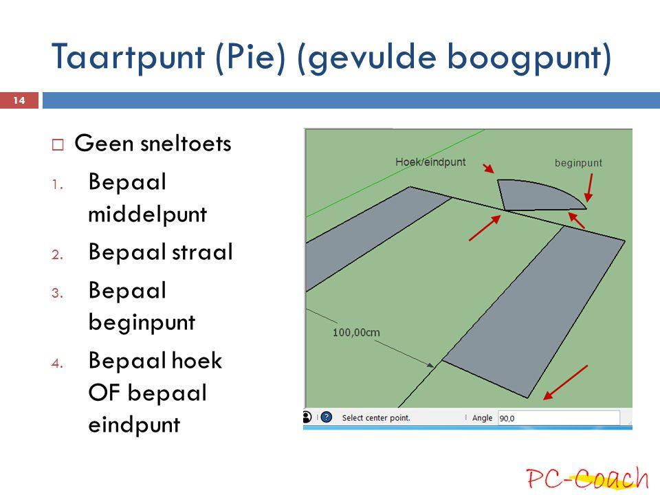 Taartpunt (Pie) (gevulde boogpunt)