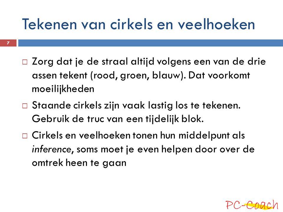 Tekenen van cirkels en veelhoeken