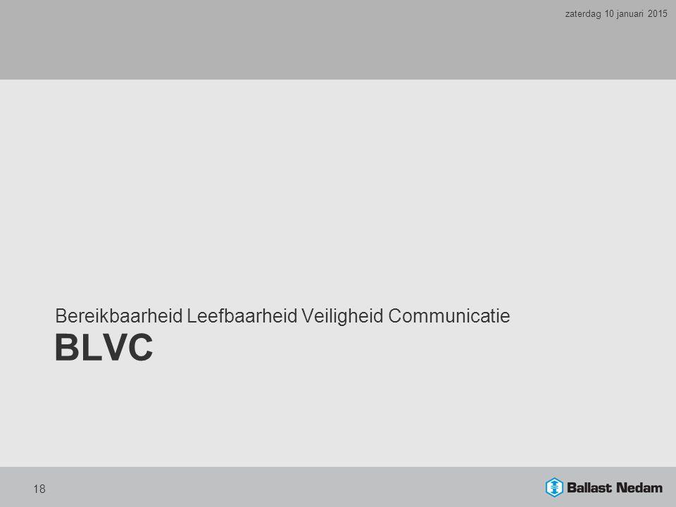 BLVC Bereikbaarheid Leefbaarheid Veiligheid Communicatie