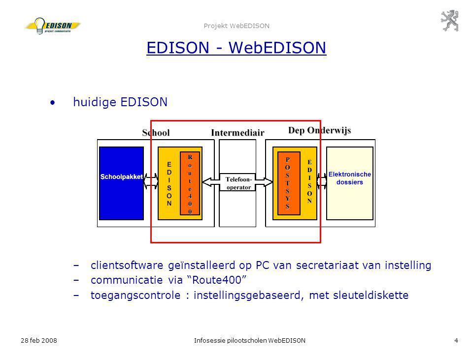 Projekt WebEDISON EDISON - WebEDISON