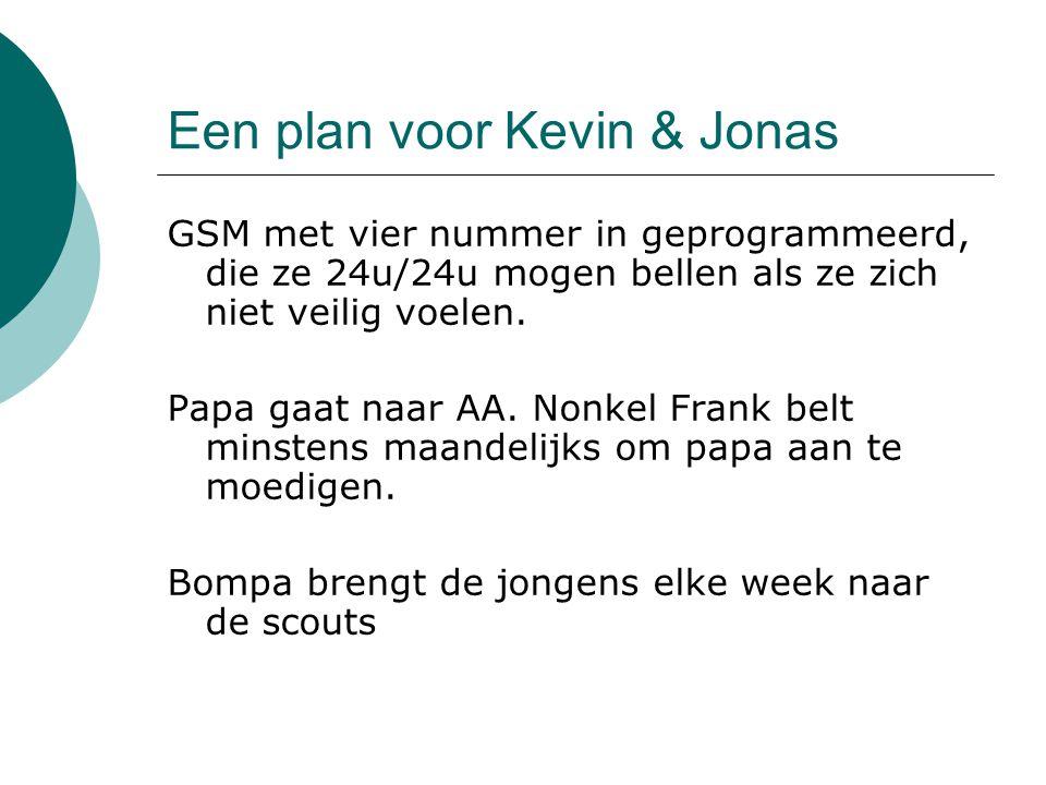 Een plan voor Kevin & Jonas