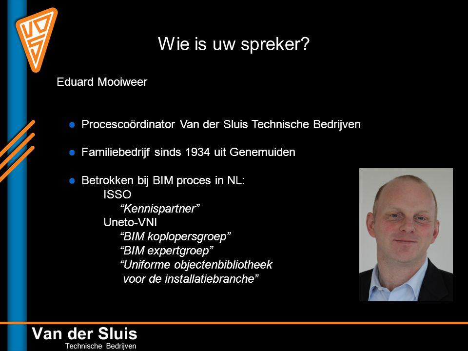 Wie is uw spreker Eduard Mooiweer