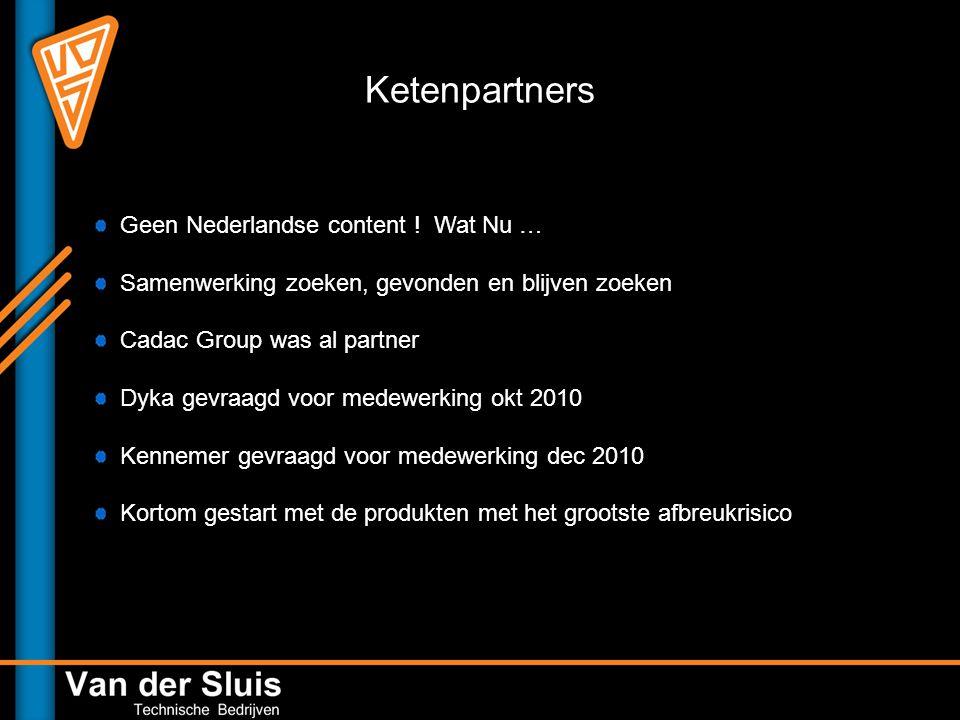 Ketenpartners Geen Nederlandse content ! Wat Nu …
