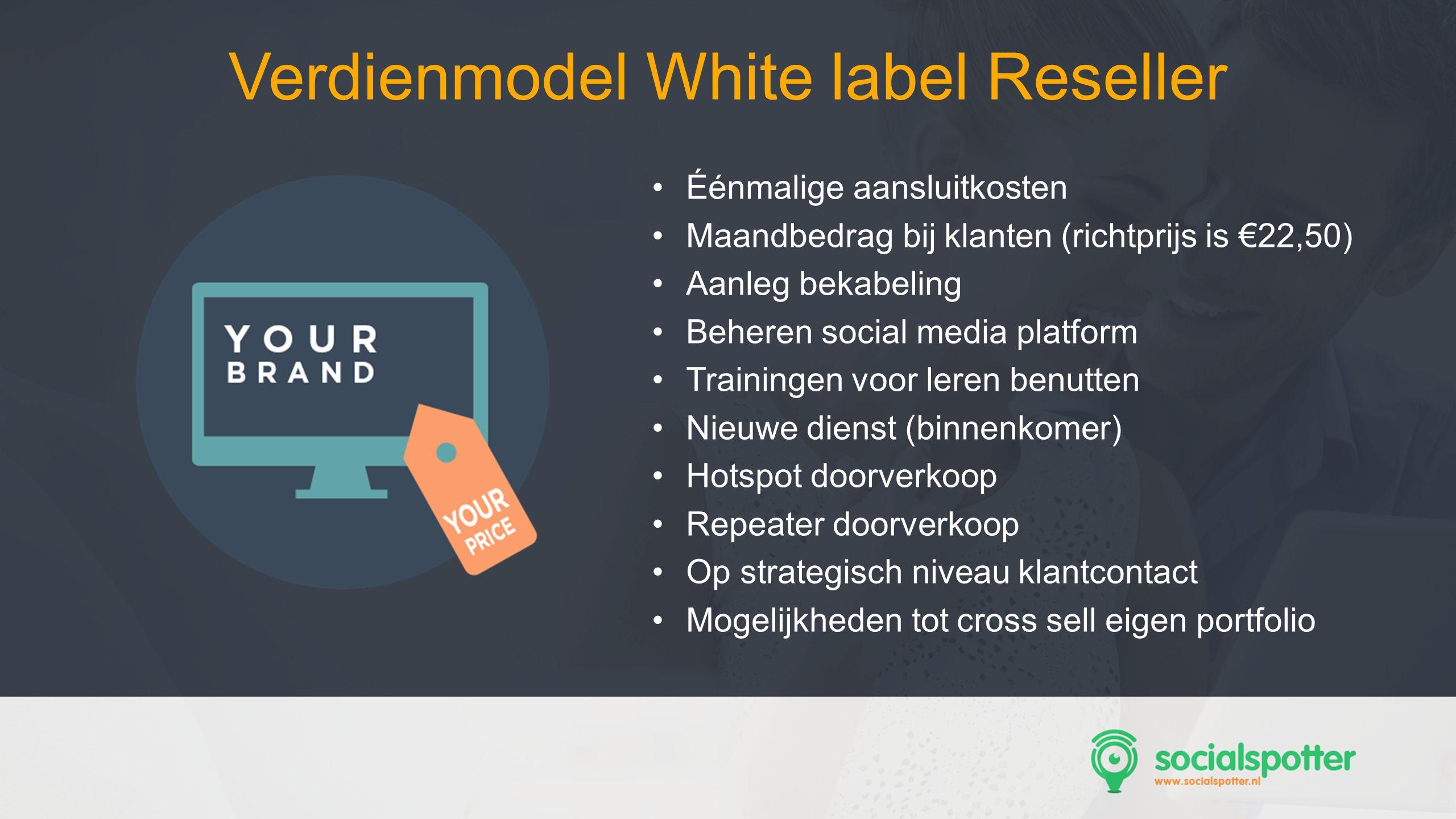 Verdienmodel White label Reseller