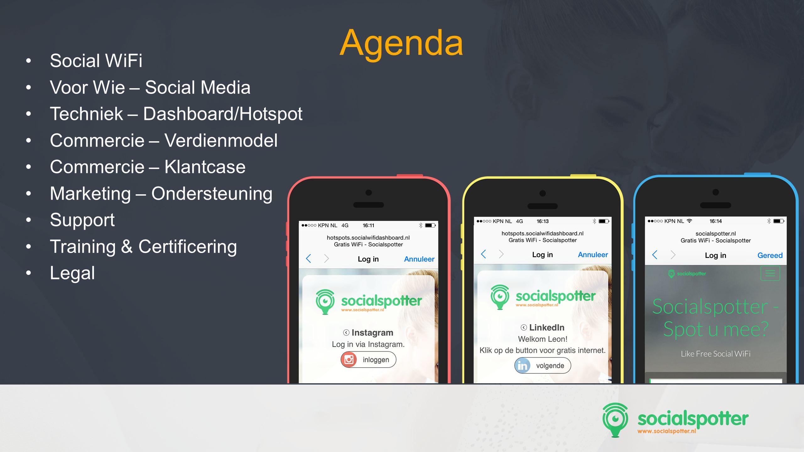 Agenda Social WiFi Voor Wie – Social Media
