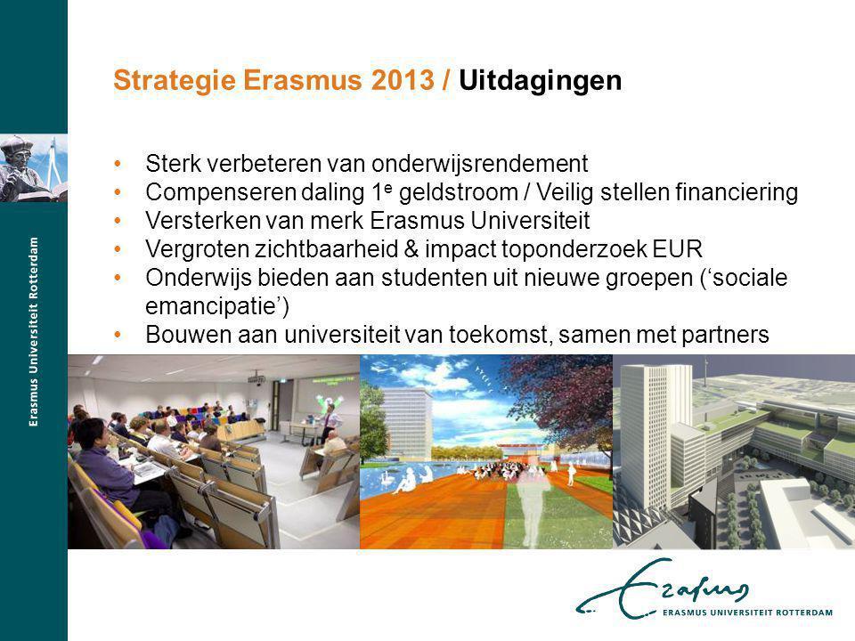 Strategie Erasmus 2013 / Uitdagingen