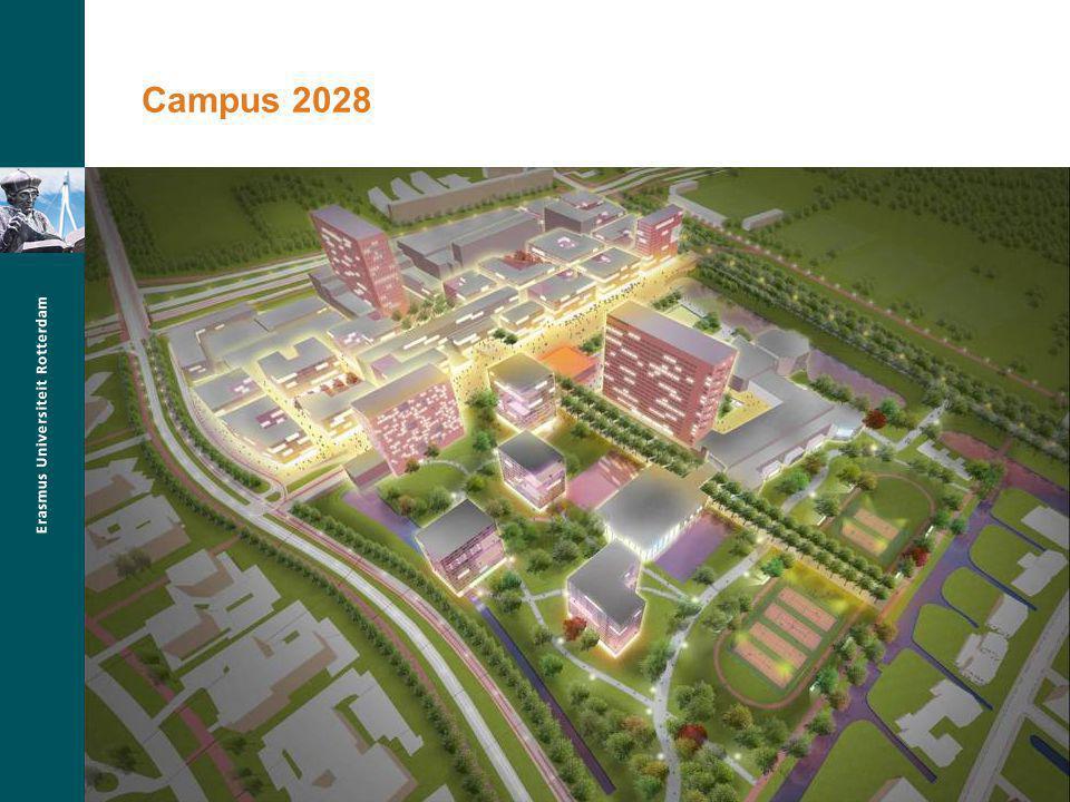 Campus 2028 Masterplan campus Woudestein Plannen tot 2028