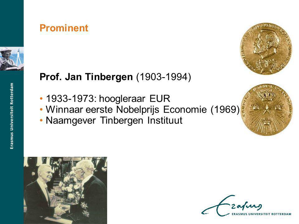 Winnaar eerste Nobelprijs Economie (1969)