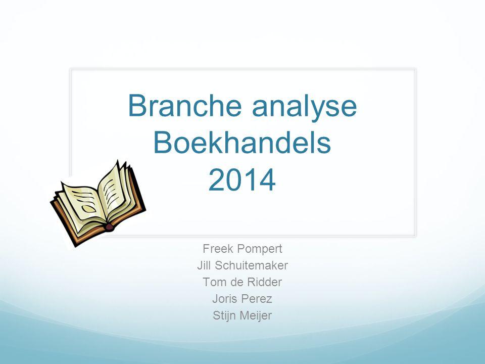 Branche analyse Boekhandels 2014
