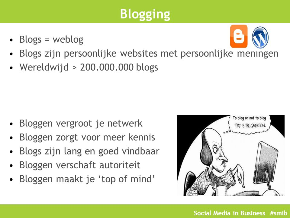 Blogging Blogs = weblog