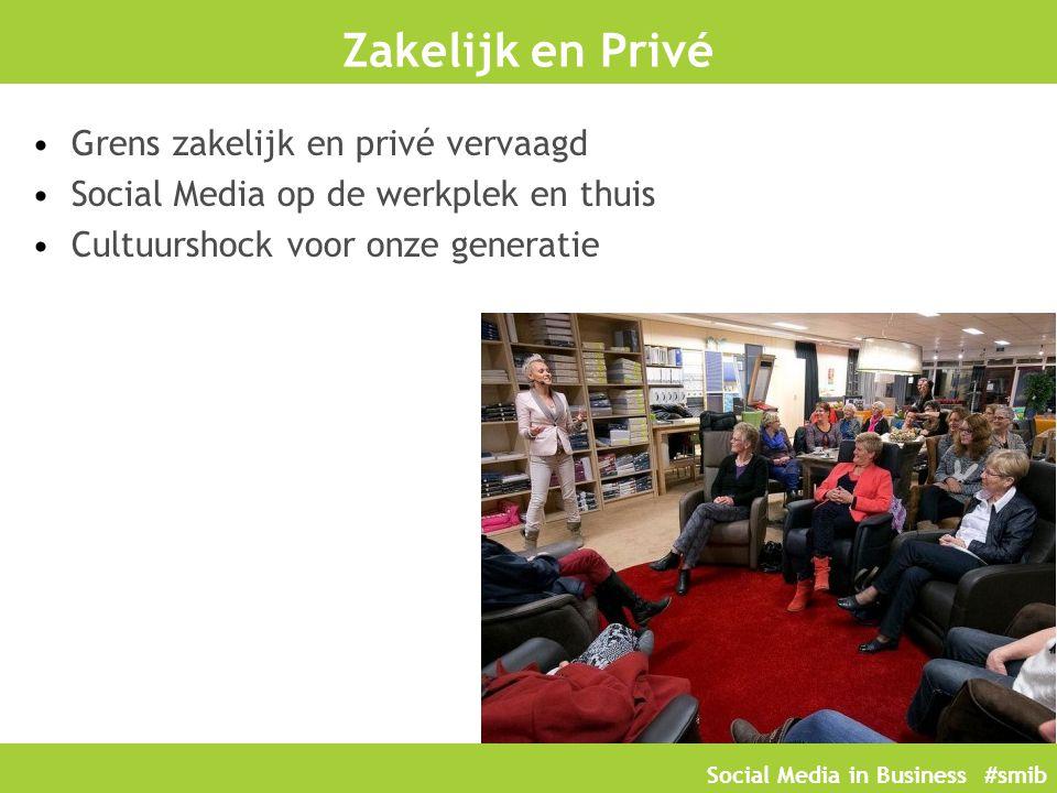 Zakelijk en Privé Grens zakelijk en privé vervaagd