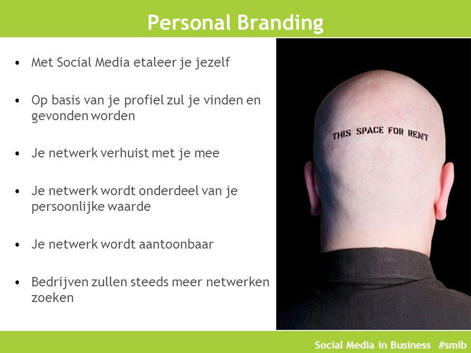 Personal Branding Met Social Media etaleer je jezelf