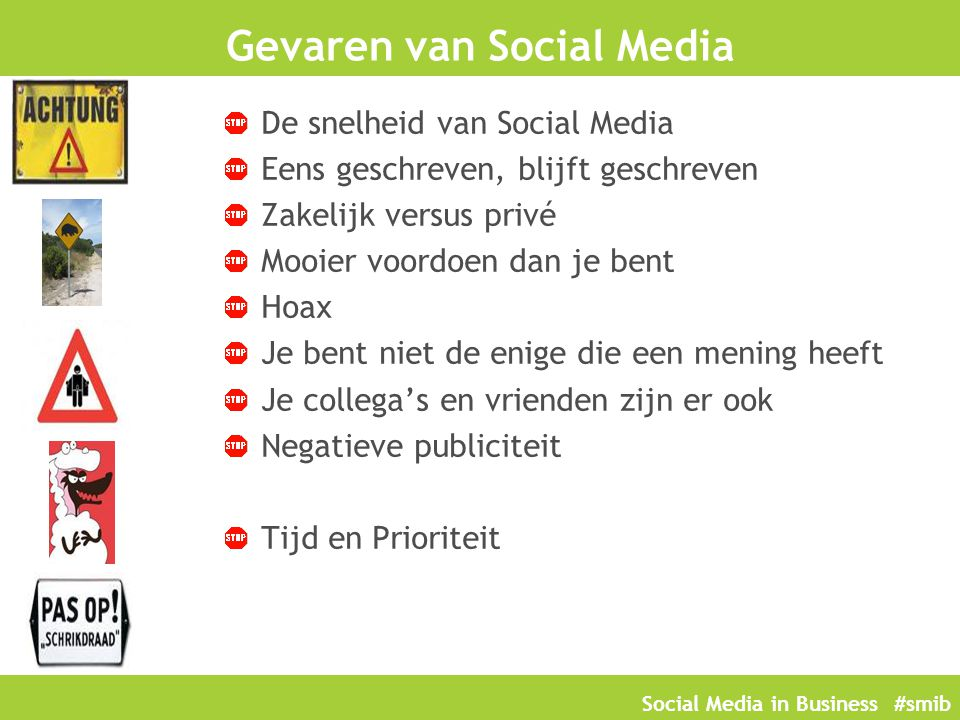 Gevaren van Social Media