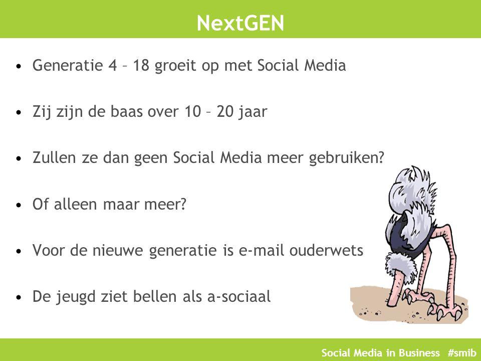 NextGEN Generatie 4 – 18 groeit op met Social Media