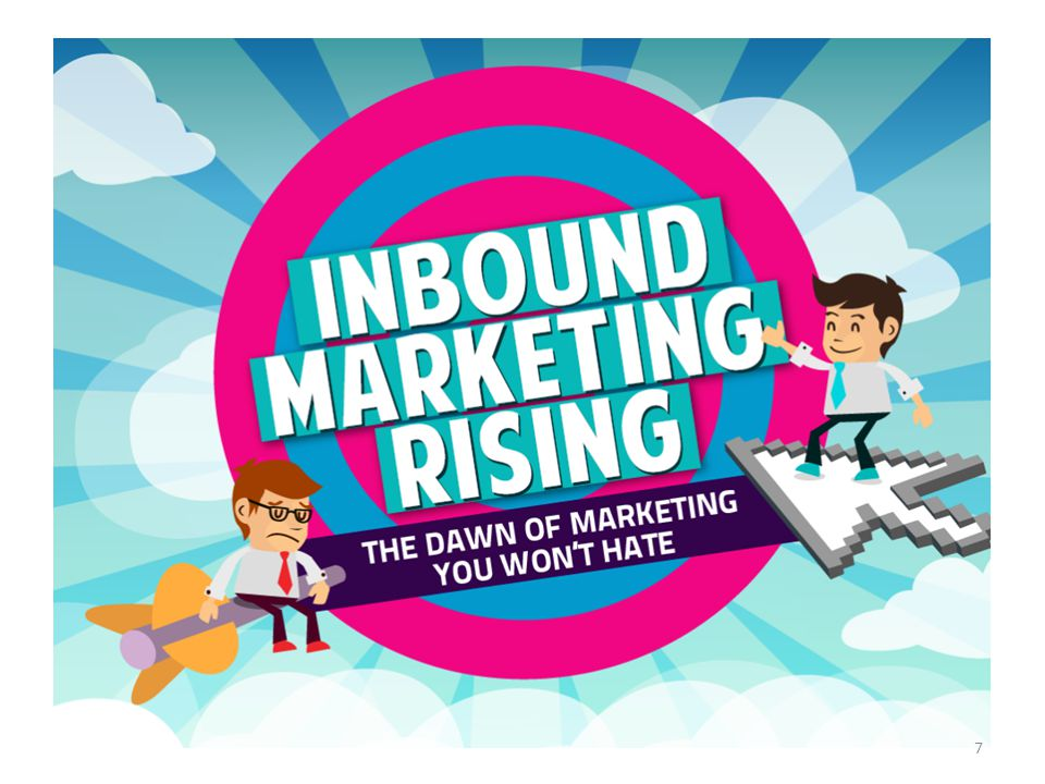 Inbound Marketing is not only more effective and less expensive than Outbound Marketing (see next sheet to see the difference), but also more fun to do.