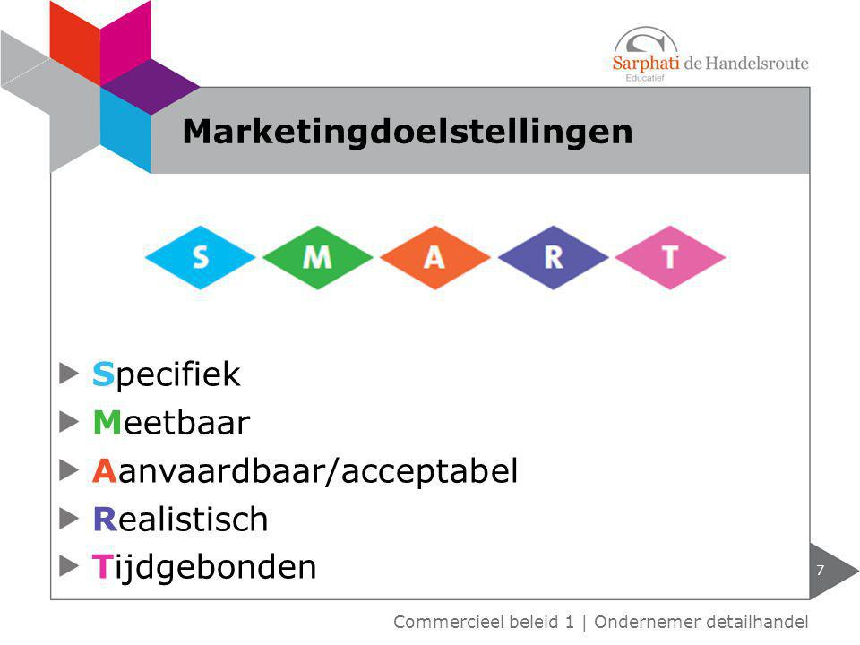 Marketingdoelstellingen
