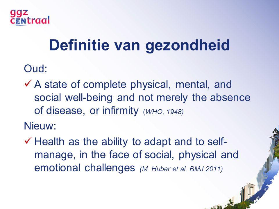 Definitie van gezondheid