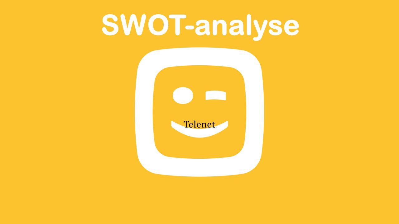 SWOT-analyse Telenet