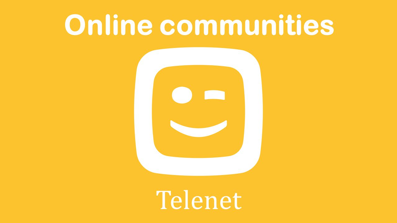 Online communities Telenet