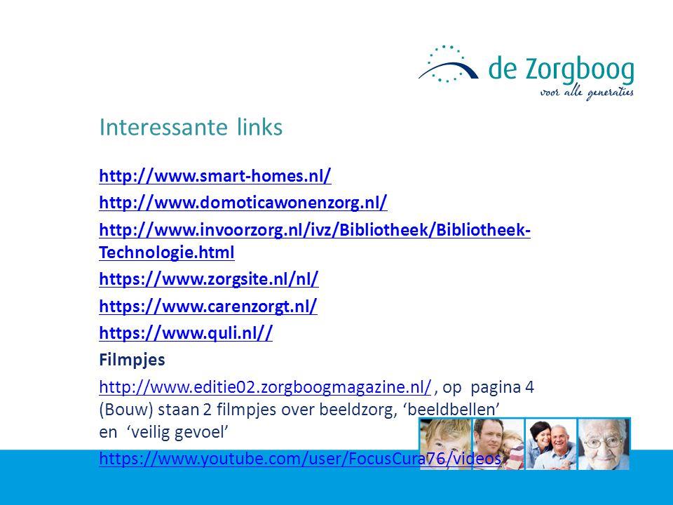 Interessante links http://www.smart-homes.nl/