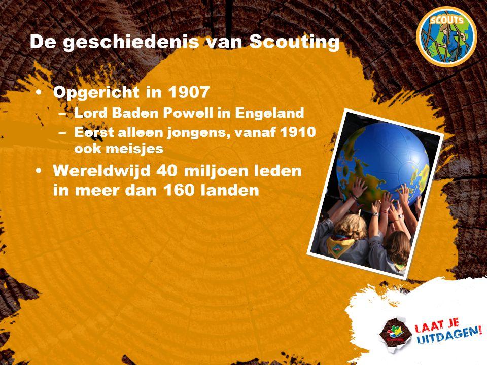 De geschiedenis van Scouting