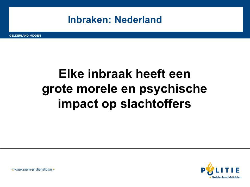 grote morele en psychische impact op slachtoffers