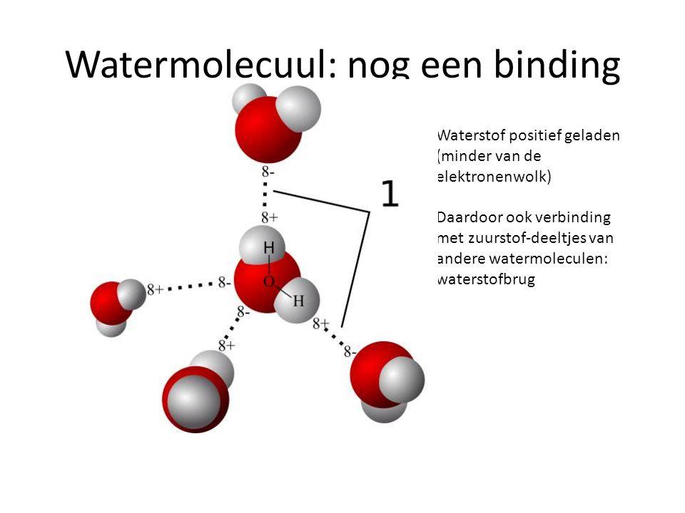 Watermolecuul: nog een binding
