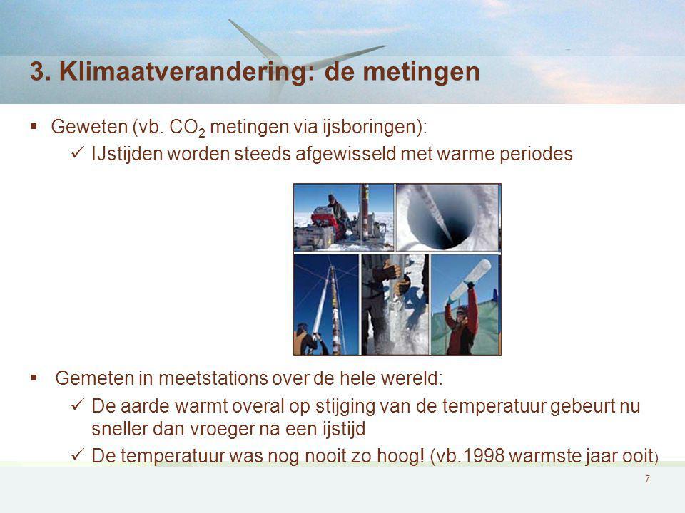 3. Klimaatverandering: de metingen