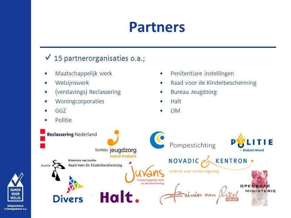 Partners 15 partnerorganisaties o.a.; Maatschappelijk werk