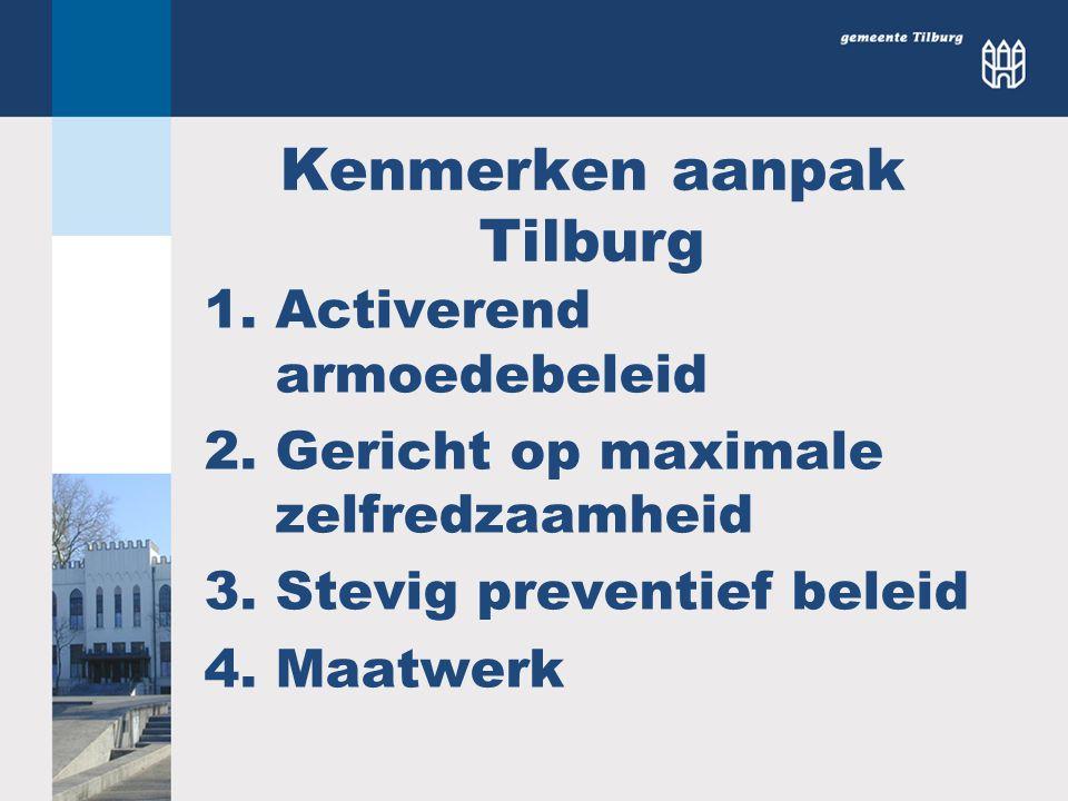 Kenmerken aanpak Tilburg