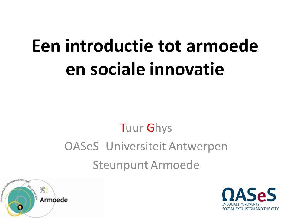 Een introductie tot armoede en sociale innovatie