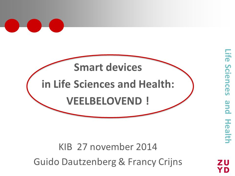 in Life Sciences and Health: Life Sciences and Health