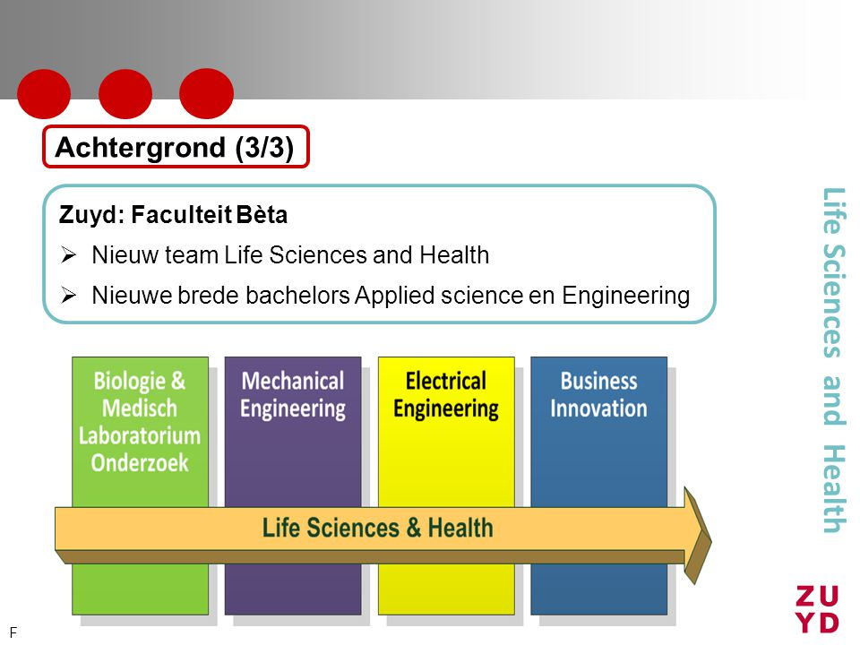 Life Sciences and Health