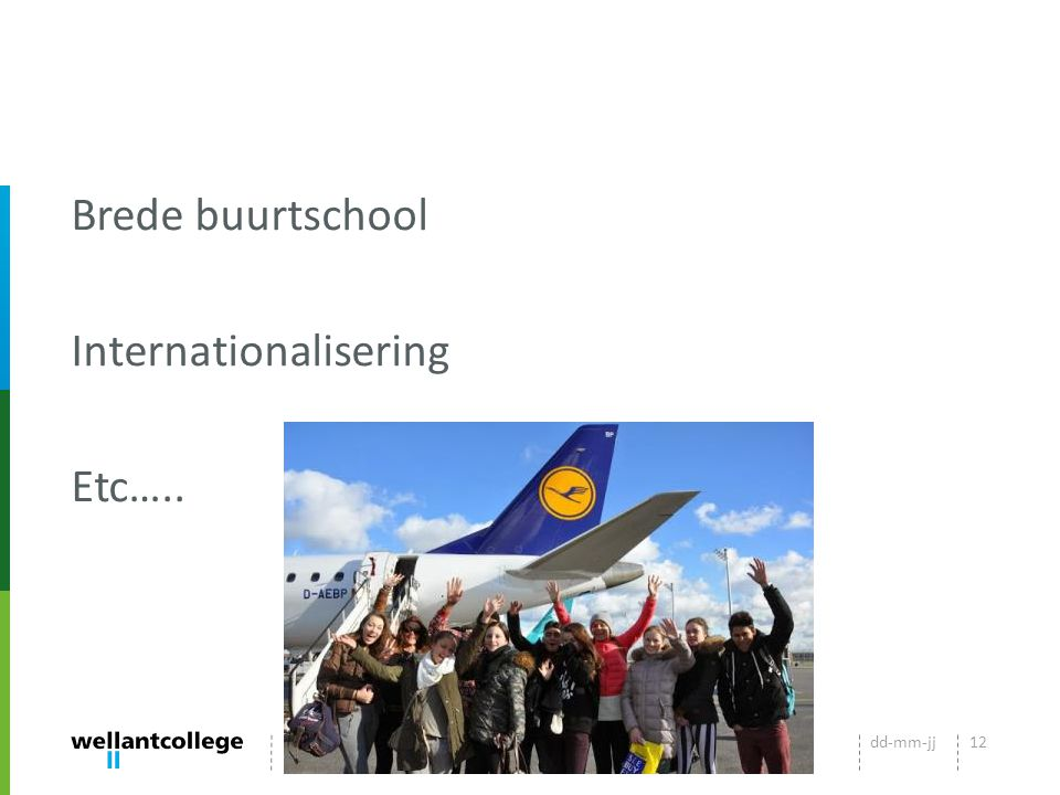 Brede buurtschool Internationalisering Etc…..